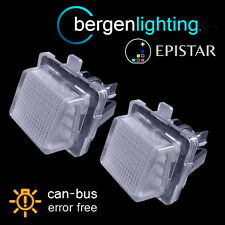 FOR MERCEDES C CLASS ESTATE CLS SLK E S CLASS 18 LED NUMBER PLATE LAMPS