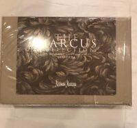 Sferra California King Neiman Marcus Collection 400 Thread Dot Sheet Set Taupe