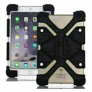 "For iPad 1~8 9.7"" 10.2"" Mini 1~5 Air 3/4 Pro 10.5"" 11"" Silicone Stand Case Cover"