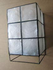 """Translucent box to place around a candle - 7"""" tall"""