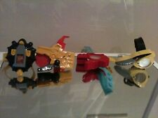 4 X Power Rangers Dino Thunder Bundle morpher Morphers Dino disques rares McDonalds