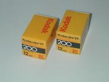 lot 2 KODACOLOR VR KODAK 200/12 DX PELLICULE 1986 photo photographie lomographie