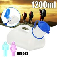 1200ml Unisex Portable Boat Urinal Toilet Bottle Traveling Camping Male Femle