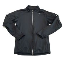 Nike Element Thermal Running Jacket, Mens Size Small, Black A34