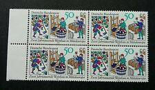 Germany Bimillenary Of Wine Growing In Central Europe 1980 (stamp blk of 4) Mnh