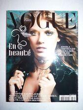 Magazine VOGUE PARIS mode french #832 novembre 2002 en beauté