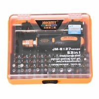 Jakemy JM-8127 Magnetic 54in1 Screwdriver Set Electronic Disassemble Repair M9Y7