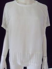 PORTMANS Womens short sleeve Ivory top Size 14 - BNWT