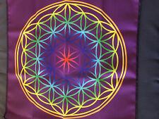 Energietuch Blume des Lebens 460
