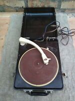 Vintage Turntable Electric Record-player Of Vinil USSR Soviet