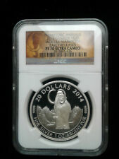 2014 1 oz .999 Canada S$20 Woolly Mammoth Early Releases PF 70 Ultra Cameo