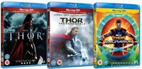 THOR 3-Movie 3D Collection [Blu-ray 3D + 2D] 1-3 Complete Trilogy Ragnarok 1 2 3