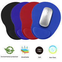 Non-Slip Mouse Pad Silicone With Wrist Rest Support Mat PC Laptop Computer Pad