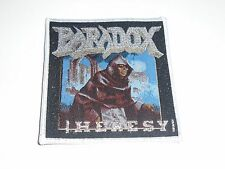 PARADOX HERESY SPEED/THRASH METAL WOVEN PATCH