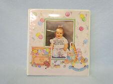 Hortense B Hewitt Baby Memory Record Book Picture Photo Scrapbook Album Binder