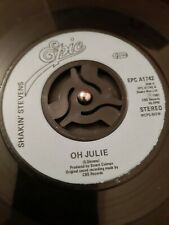 "Shakin' Stevens – Oh Julie Vinyl 7""  Single UK Epic EPCA 1742 1982"