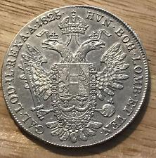 More details for austria - francis i - 1825 b silver thaler