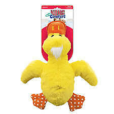 KONG Jumbo Comfort  Yellow Duck Dog Toy (Extra Large)