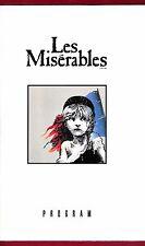 """Alain Boublil """"LES MISERABLES"""" Claude-Michel Schonberg 1990 Swedish Cast Program"""