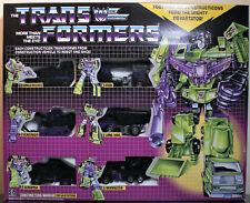 Transformers G1 Series BLACK DEVASTATOR Set, 3rd Party Version, MISB/New (2019)