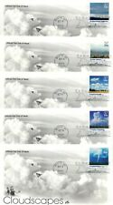 US FDC #3878a-3878o Cloudscapes, ArtCraft (5507)