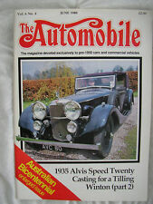 The Automobile June Monthly Transportation Magazines