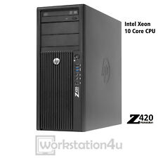 HP Z420 Workstation Pc e5-2680v2 32gb RAM 256gb SSD 1tb HDD GTX 960 WIN10