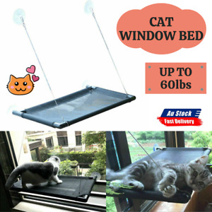 Durable Pet Cat Window Hammock Perch Bed Hold Up To 60lbs Mounted Seat