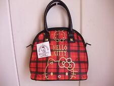 Hello kitty 40th red check bag Kawaii cute from JAPAN Sanrio Brand-New 2014 NWT