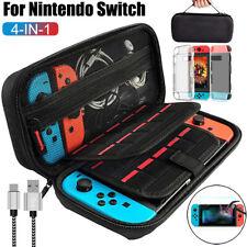 Переключатель для Nintendo жесткий чехол сумка + оболочка Чехол + кабель зарядки + пленка аксессуары
