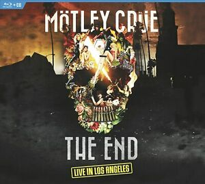 Motley Crue - The End: Live In Los Angeles DVD + CD (2016) Blu-Ray DTS-HD !