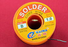 1mm 63/37 Rosin Core Solder Flux 2.0% Tin Lead Welding Iron Wire Reel Soldering