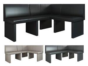 Corner Kitchen Dining Seating Bench Dallas imitation leather