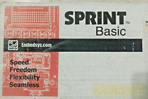Vintage Embedsys.com SPRINT basic Atmel evaluation board