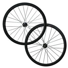 25mm width Disc Brake 38mm tubular wheelset carbon cyclocross wheels U shape
