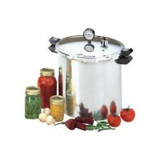 Presto 01781 23 qt Aluminum Pressure Cooker - Silver