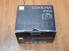 Open Box - Nikon CoolPix P510 16.1MP 42x Zoom Camera - Black - 018208263295