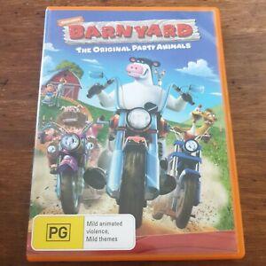 Nickelodeon Barnyard DVD The Original Party Animals R4 VERY GOOD – FREE POST