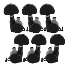 Guitar Locking Tuners Machine Heads for Electric Acoustic Parts Black 3L3R