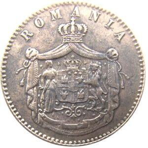 ROMANIA - 2 Bani 1867 - Prince Charles I ° - (! 866-1881) - as King (1881-1914)