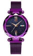 Fashion Womans Elegant Stainless Steel Mesh Watchband Quartz Bracelet Wristwatch