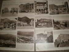Photo article Cassino Italy rebuilt after the war 1955 ref Z