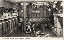 THE HIDE OUT LOUNGE BAR AT BYRNE'S OF KILCULLEN CO. KILDARE IRELAND RP POSTCARD