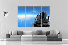 VUE AVION DE CHASSE FIGHTER  Wall Poster Grand format A0 Large Print
