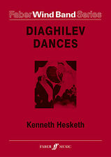 Diaghilev Dances Wind Band Score Learn to Play WOODWIND SONGS FABER Music BOOK