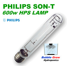 PHILIPS 600W SON-T AGRO HPS HIGH PRESSURE SODIUM WATTS LAMP LIGHT GLOBE