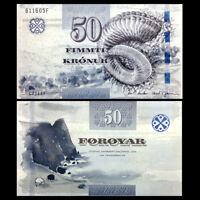 Faeroe Faroe Islands 50 Kronur, 2011(2012), P-29, UNC