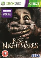 Rise of Nightmares Xbox 360 Brand New Sealed Fast Shipping