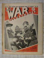 The War Illustrated # 26 (Finland, Altmark, Graf Spee, HMS Exeter, ANZACs, WW2)