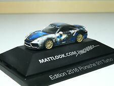 Herpa Porsche 911 Turbo Mattlook Edition 3 in PC 101981